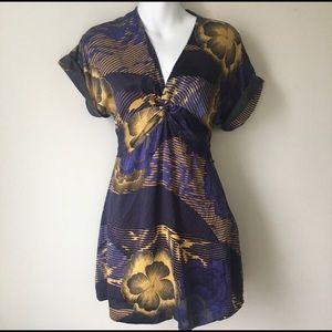 Ted Baker Silk Dress, Size 2